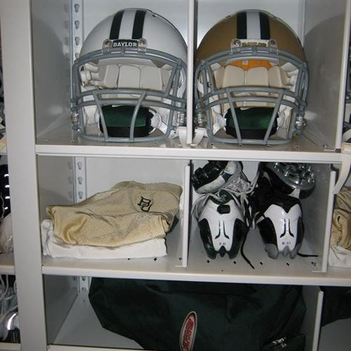 Personal athletic equipment storage