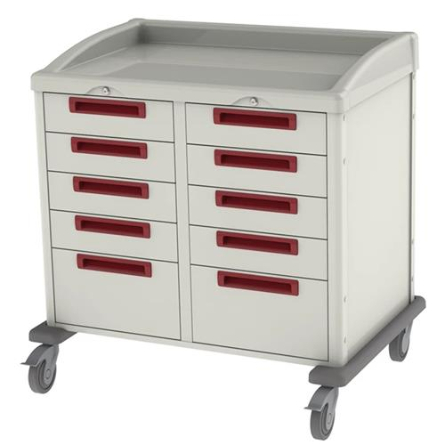 procedure cart with keyed entry