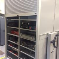 ActivRAC for tool storage with Rollok door