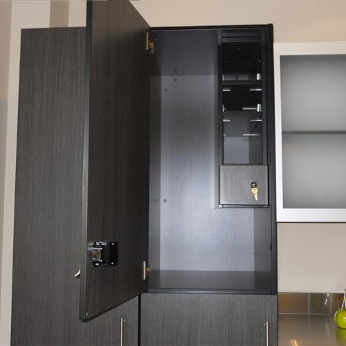 Modular Millwork inside of cabinet
