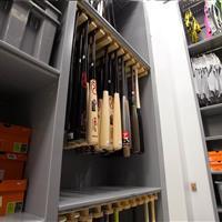 Baseball bat storage - University of Oregon