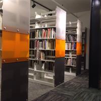 Custom acrylic end panels for University of Riverside