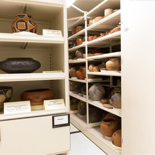 Arizona State Musuem artifact storage.jpg