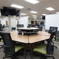 Off site High bay shelving creates space for students to collaborate.jpg