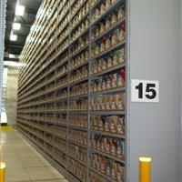 Off site High bay shelving.JPG