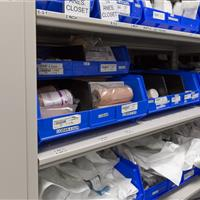 Sterile surgical supplies storage