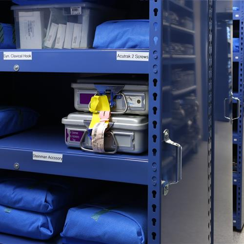 Surgical kits stored on LevPRO