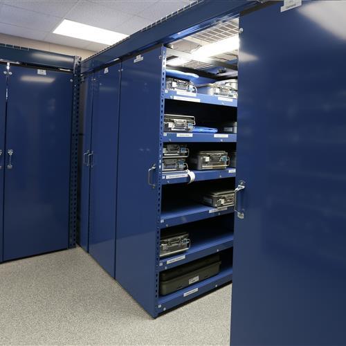 Sterile storage system on LevPRO mobile system