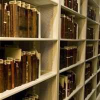 Rare Book Storage with Perforated Shelving