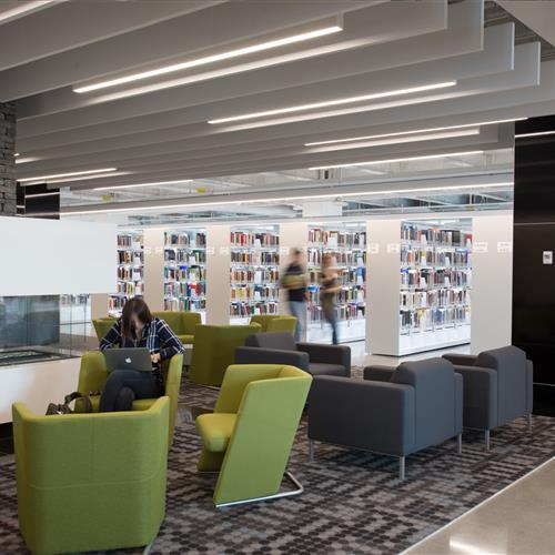 Collaborative work spaces for students at Calgary