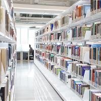 LED illuminated book storage solutions