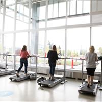 Exercise study areas at Mount Royal University