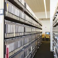 sheet music storage performing arts library