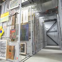 University Of Calgary Mobile Art Racks