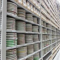 Archival storage solutions on Off-site High-bay shelving