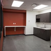 University of Alberta kitchen area