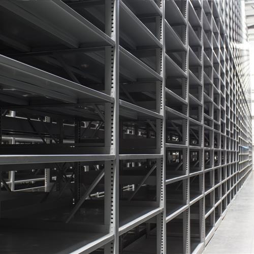 University of Alberta library high density shelving