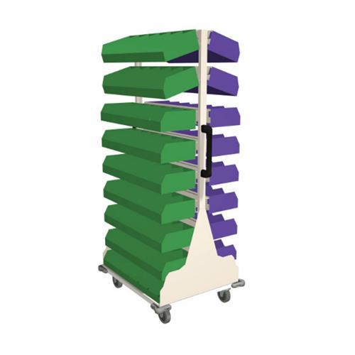 Frame WRX Cart with storage bins