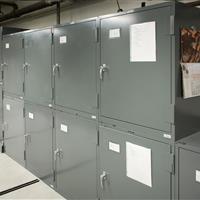 Raymond Alf Museum cabinets