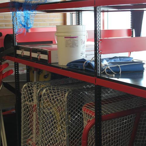 Rousseau Cabinet Gym Storage