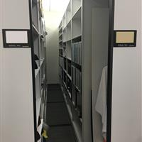 Mechanical Assist Mobile System with various shelving options at an Automotive research and design center