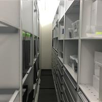 Open type shelving on a High Density Mobile System an Automotive research and design center