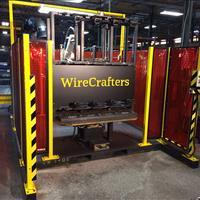Wirecrafters post welder
