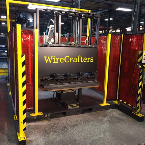 Wirecrafters post welder