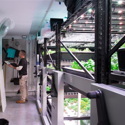 Farm One utilizes ActivRAC mechanical assist for vertical growing.jpg