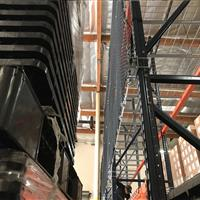 Pallet Rack Safety Netting in warehouse