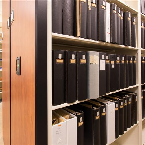 Extensive archival collections at the George Washington library