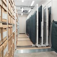 Texas state archival storage on mobile storage solutions