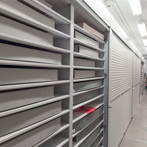 Archival storage solutions at Texas state library and archives commission