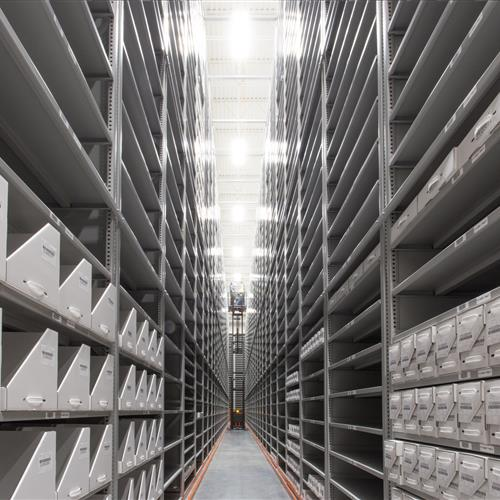 A phased approach to archives and research storage collections