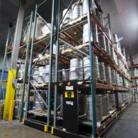 Cold Storage warehouse keg storage