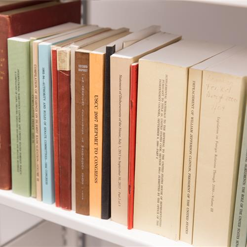 Compact library shelving