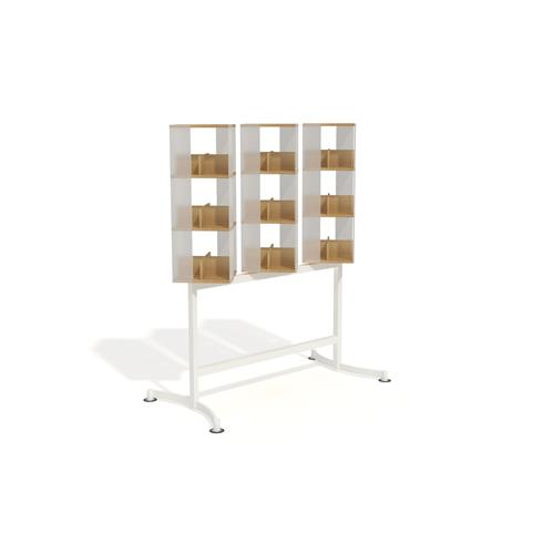 Display unit on wheels