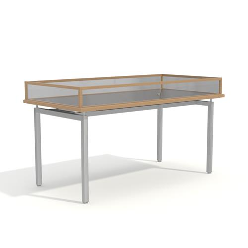Long rectangle Display table