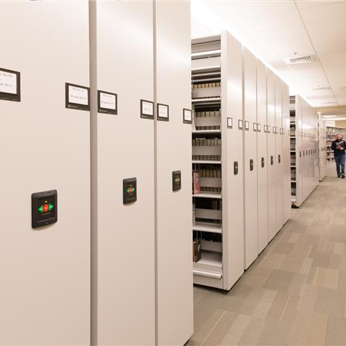 Emory university mobile storage organizes your library collection