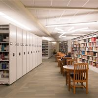 Mobile storage at the Candler university library