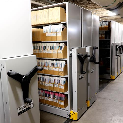 Archival collections storage solution