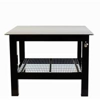 Square top welding table