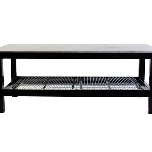Black welding table