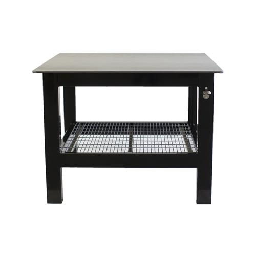 Black Square top welding table