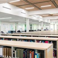 Cantilever Library Static Shelving Weber State