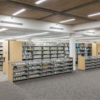 Mobile and Static Library Shelving Weber State University