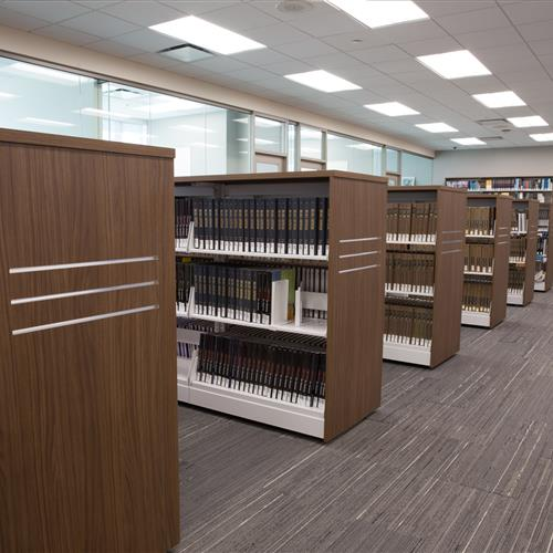 Library carts makes it easy to reorganize library materials
