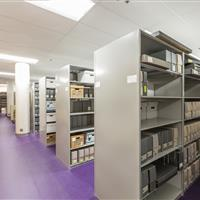 Weber State Library 4 Post Shelving