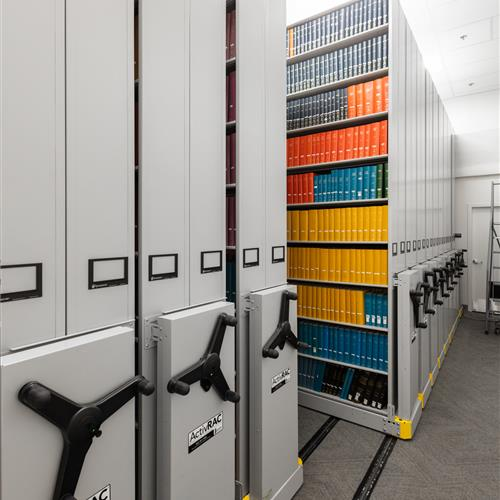 Weber State Library Archival Storage