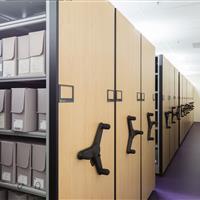Weber State Library Sliding Mobile System